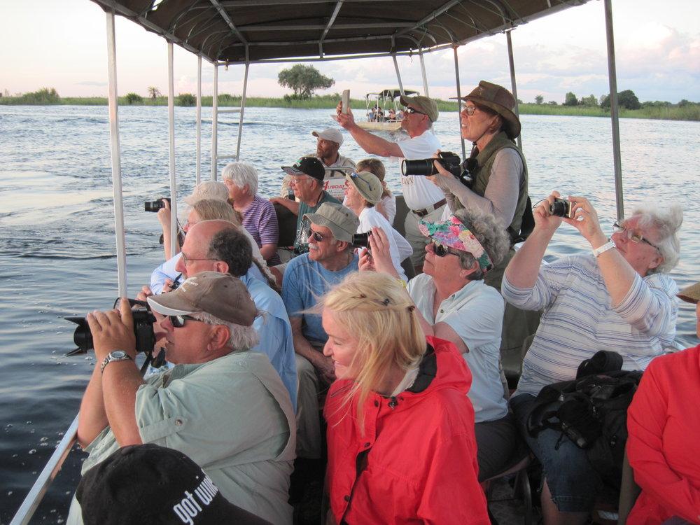 Classic Chobe River cruise