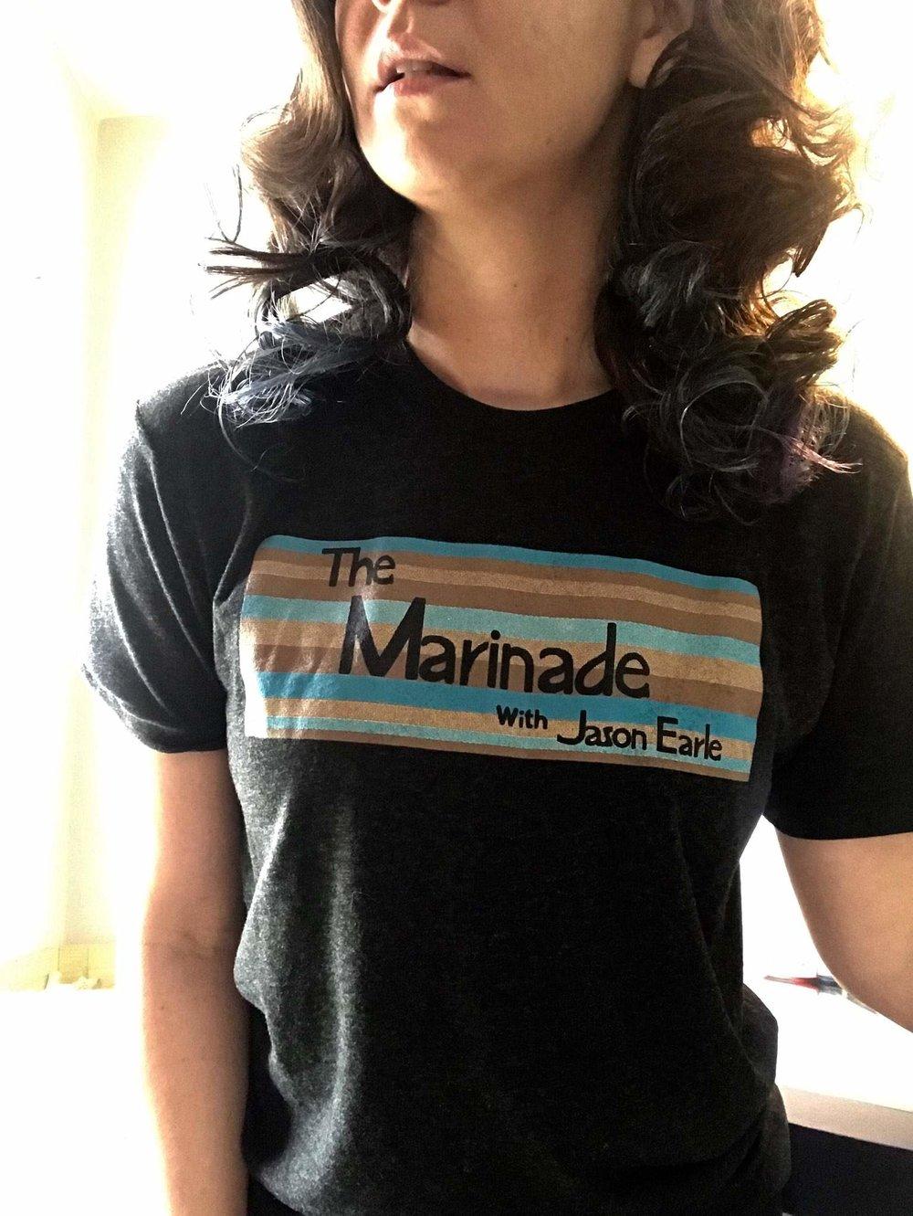 Marinade t-shirt by  Pink Robot Shirts
