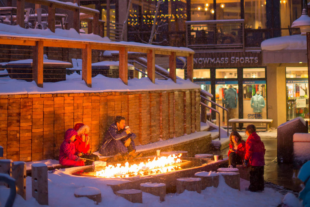 snowmass Ski Resort  - Unlike other ski destinations, where lodges are set at the base of a mountain, Snowmass Village is built on the mountain. In fact, Snowmass invented