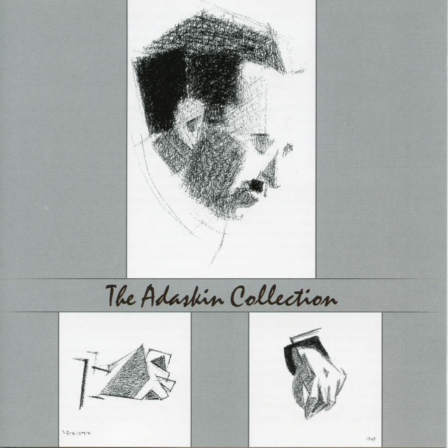 The Adaskin Collection, Vol. 6 - AdLar Music ©2007Jacques Israelievitch, violinMichael Israelievitch, marimbaErica Goodman, harpAdaskin String TrioThe music of Murray Adaskin, including Sonata 'Padre e figlio' for violin and marimba.