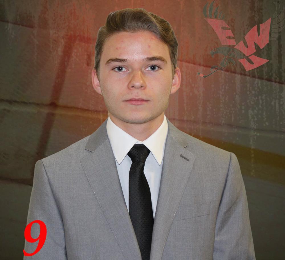#9 Jared Kapelke -