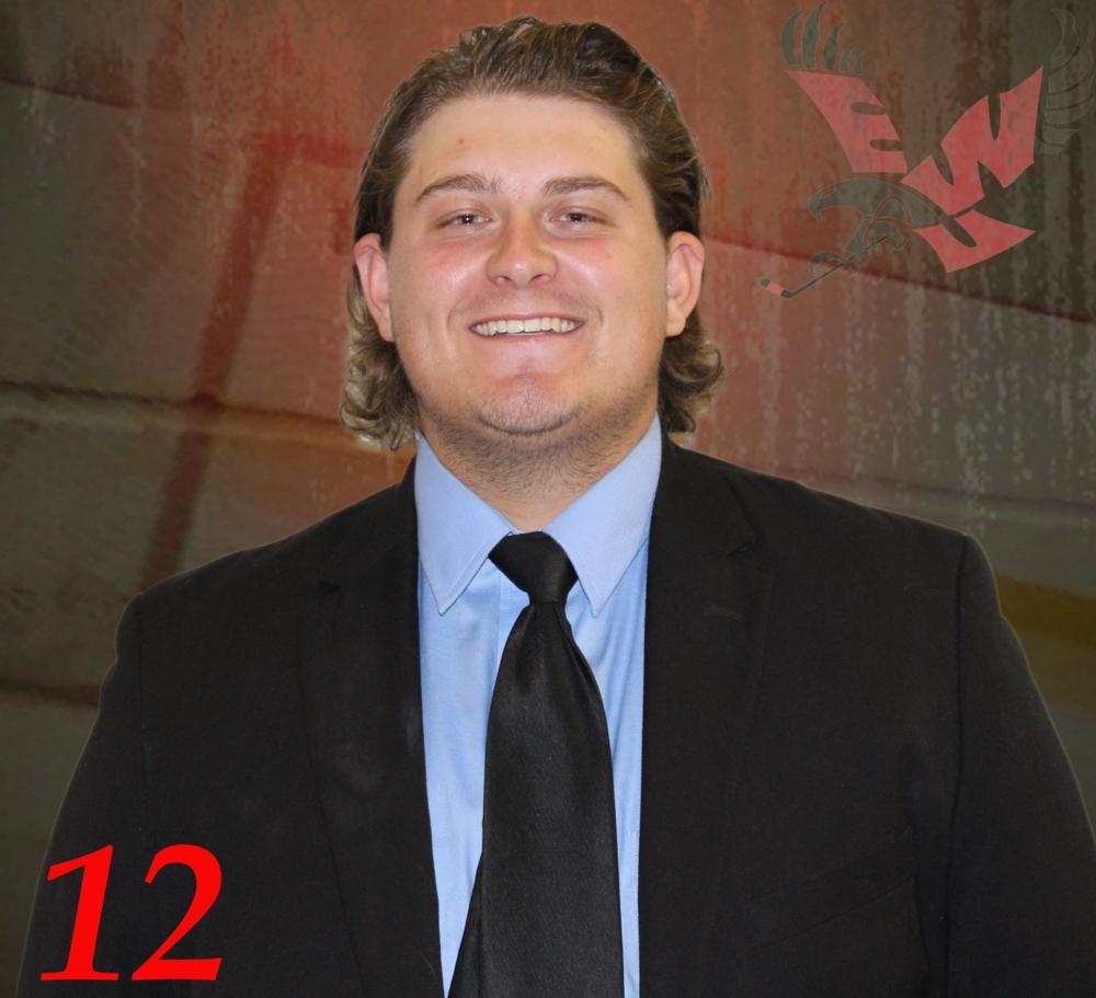 #12 Tyler Erickson -
