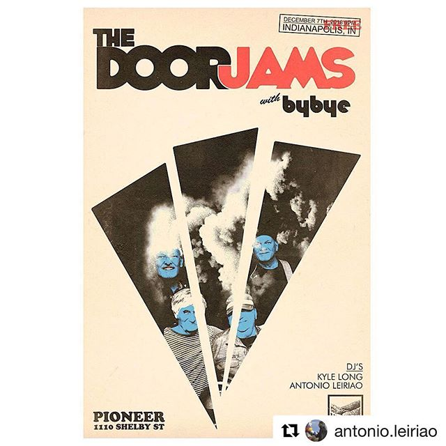 First Friday at Pioneer. We're back at it. #Repost Running Garage & Psych jams @pioneerindy for #firstfriday December 7th with the homie @djkylelong alongside The Legendary #thedoorjams and @bybyemusic Don't sleep Naptown! #pioneerindy #bybyemusic #anonymousinsidetheshadow #sirwinstonandthecommons #culturalmanifesto #uplandbrewingco #naptownsoulclub #naptown