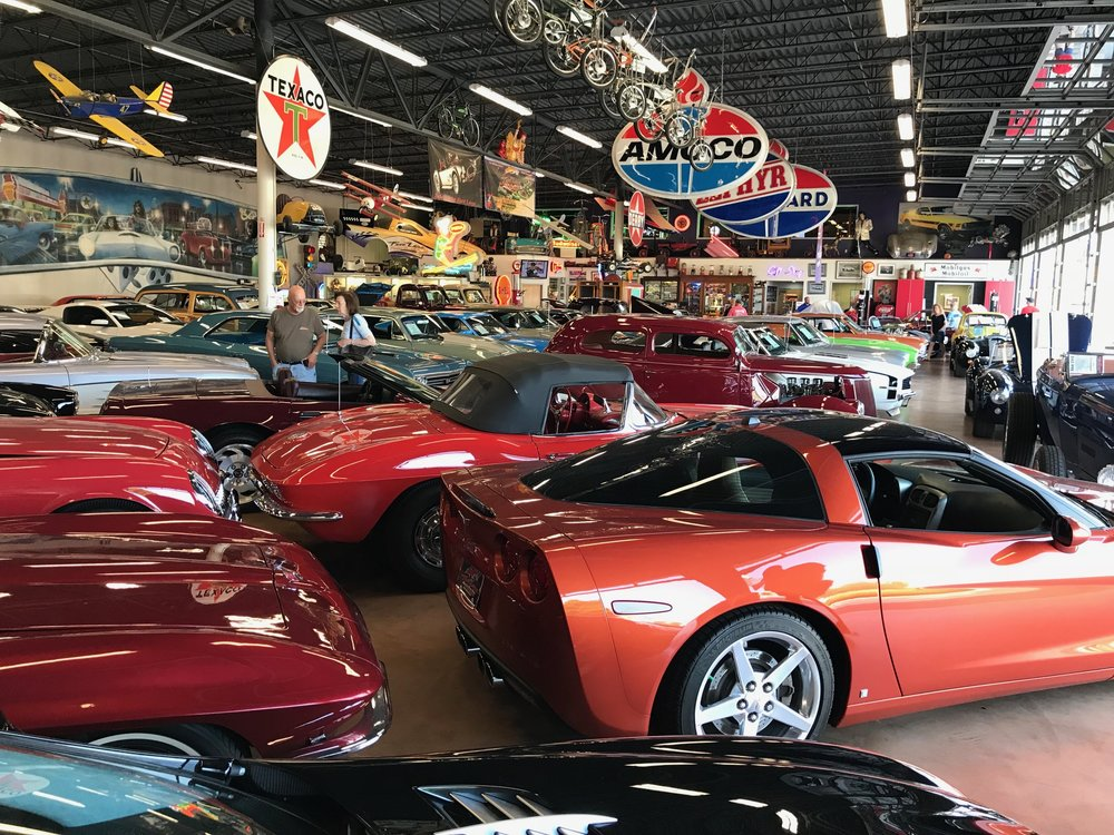 A wide view of one of Fast Lane's fantastic showrooms.