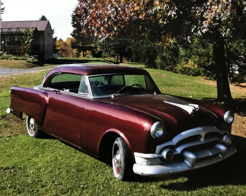 "The ""restored"" version of the Packard."
