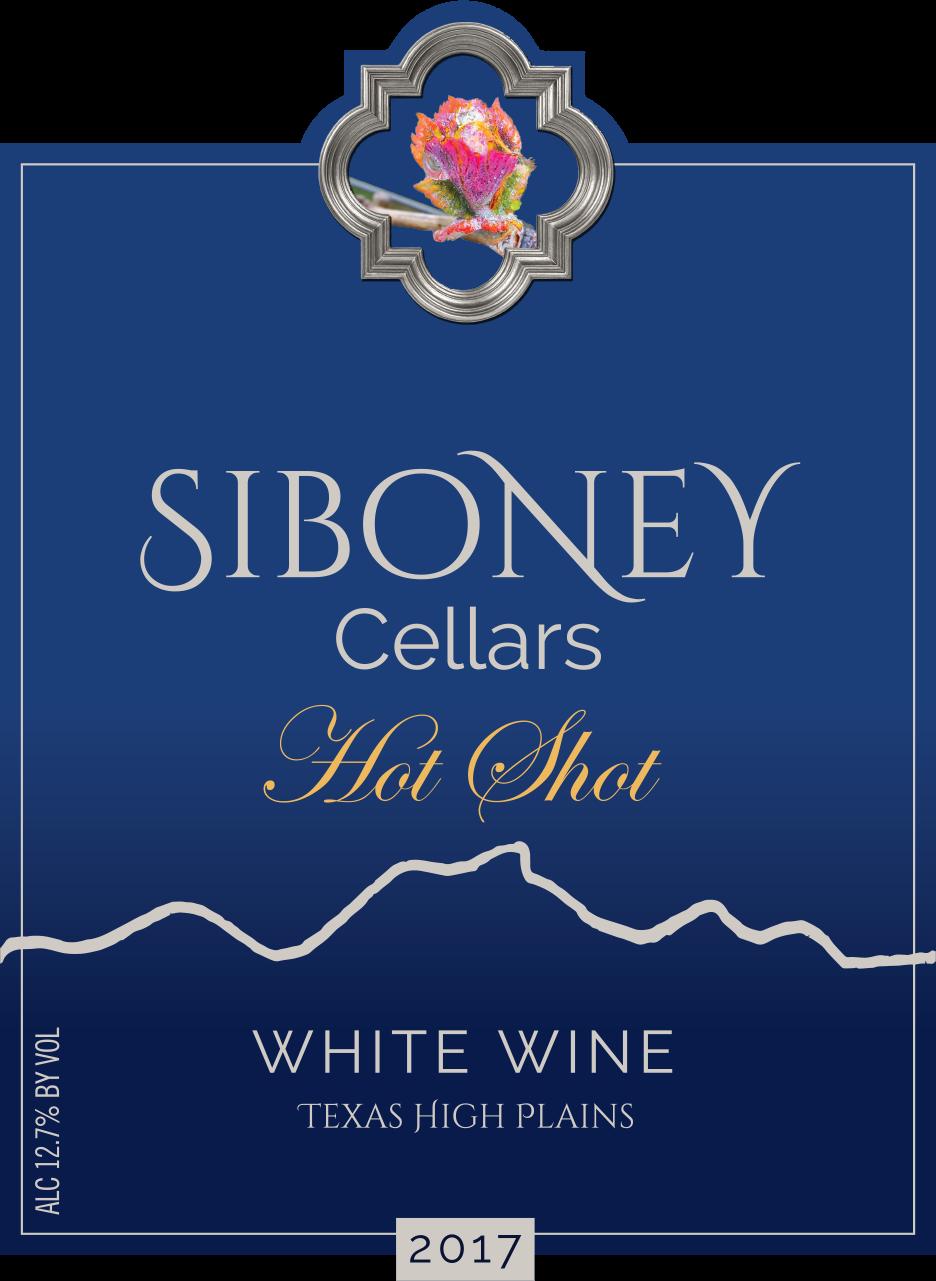 2017 Hot Shot White Wine - $32