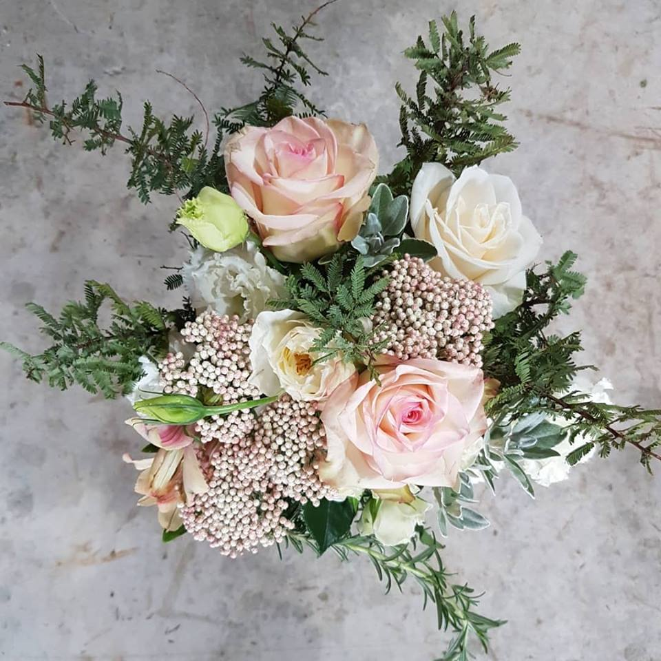 Wedding bouquet XOX Florist