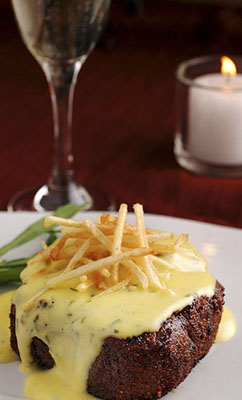Steak Béarnaise and Frites