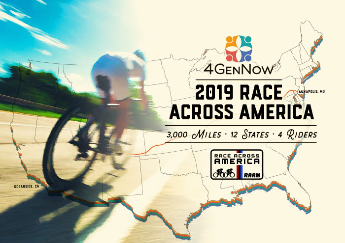 Race Across America - 4GenNow Creates Intergenerational Collaboration