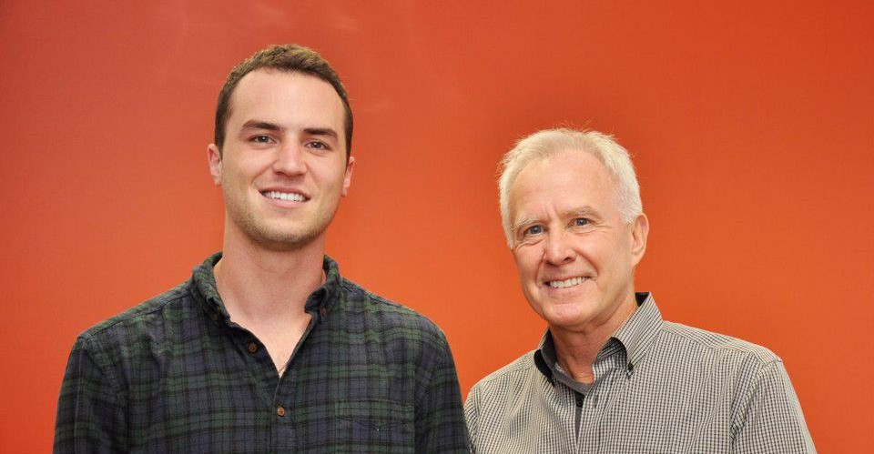 OneClick.chat Co-Founders: Millennial Dillon Myers and Boomer Alan Gibson