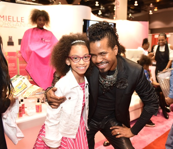 Celebrity Hair Stylist Chris Curse with Alyssia Duda