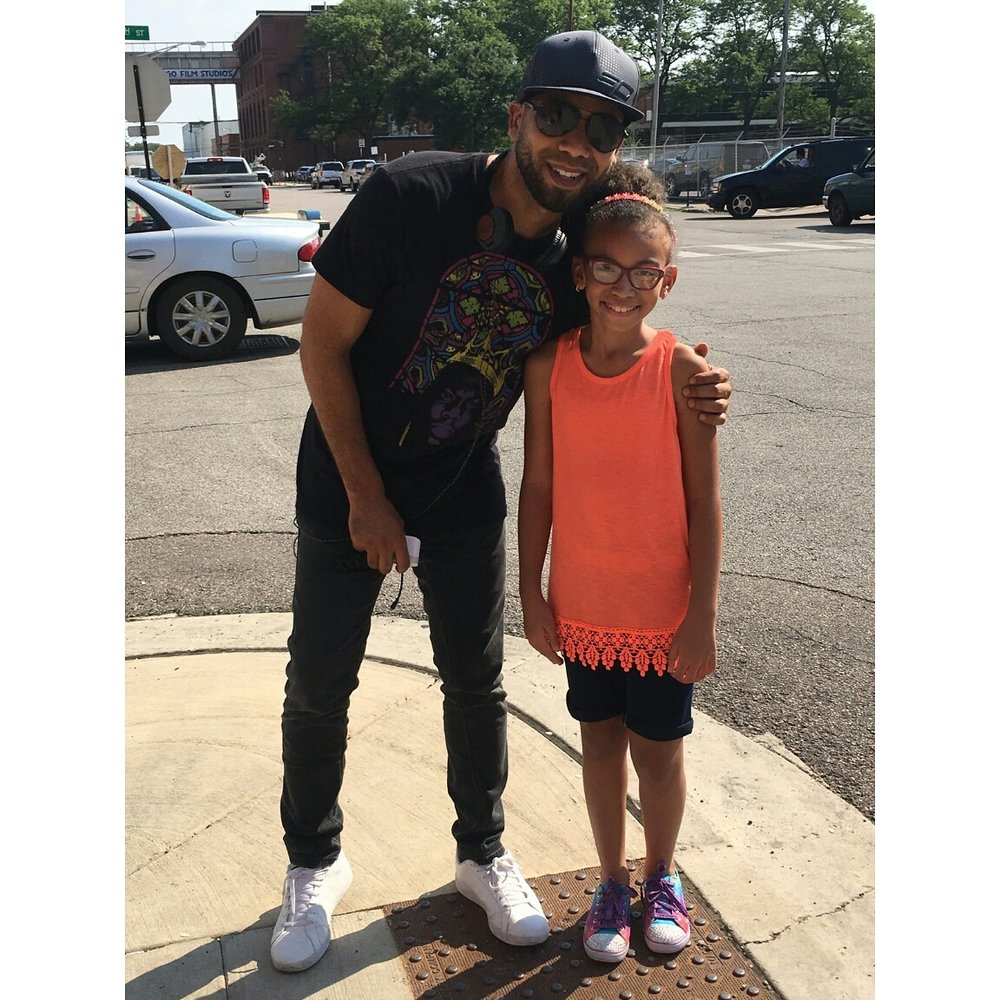 Jussie  Smollet and Alyssia Duda