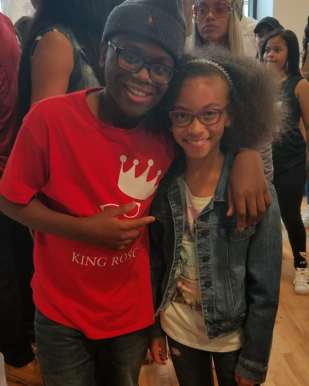 Rap Artist King Rascoe and Alyssia Duda