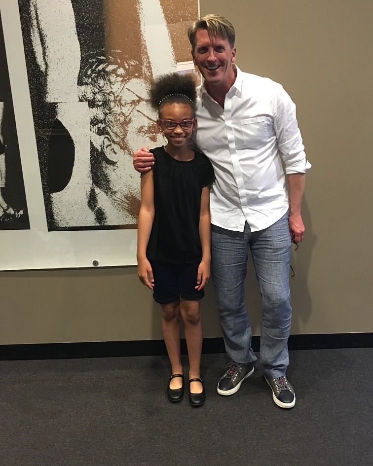 Artist Director of The Joffrey Ballet -Ashley Wheater with Alyssia