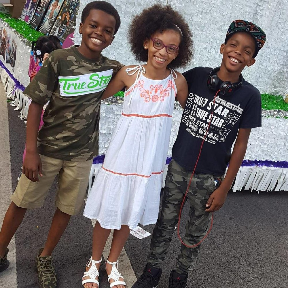 Celebrity Kidphilantropist Jahkil Jackson, Actor Cayen Martin and Alyssia Duda