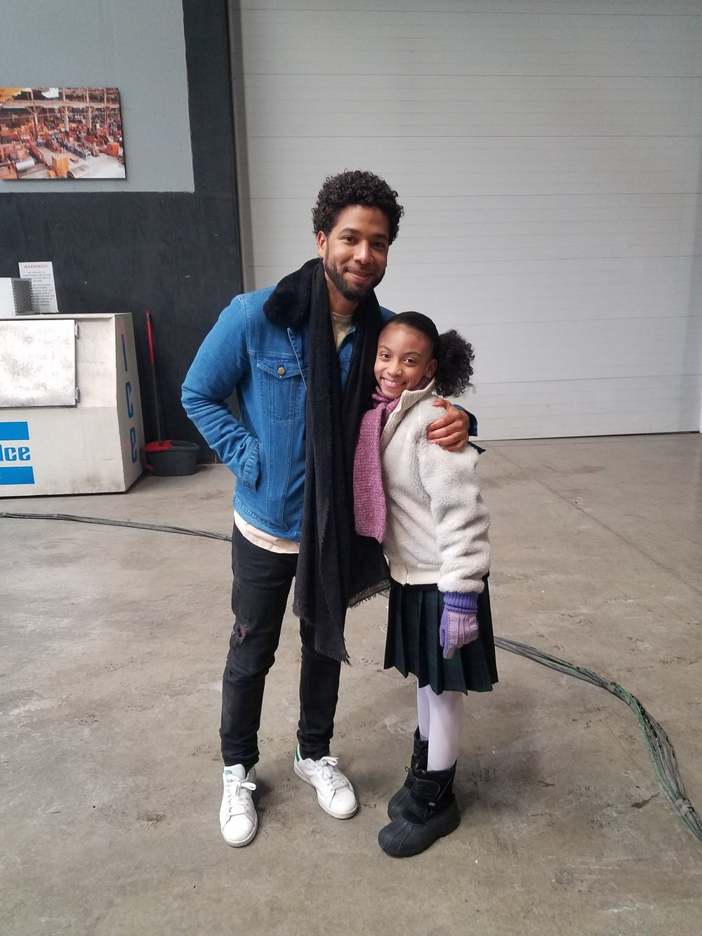 Celebrity Actor/Director Jussie Smollet and Alyssia Duda