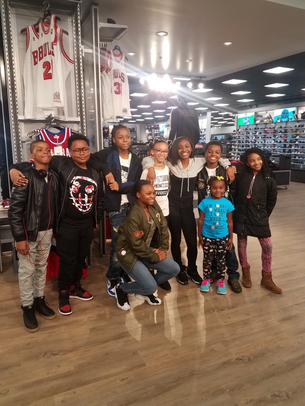 Celebrity Kidphilantrapist Jahkil Jackson, Actor Cayen Martin, The Cast of The Chi and Alyssia Duda
