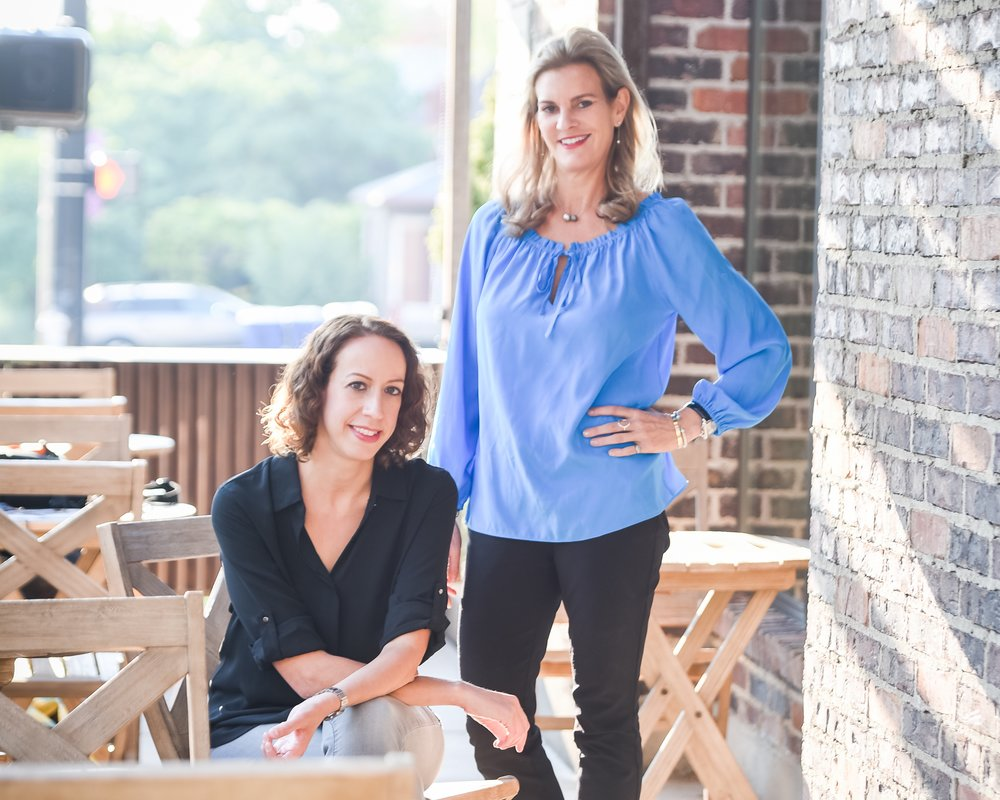 Co-founders of DineXpert Wendy (left), Katharine (right)