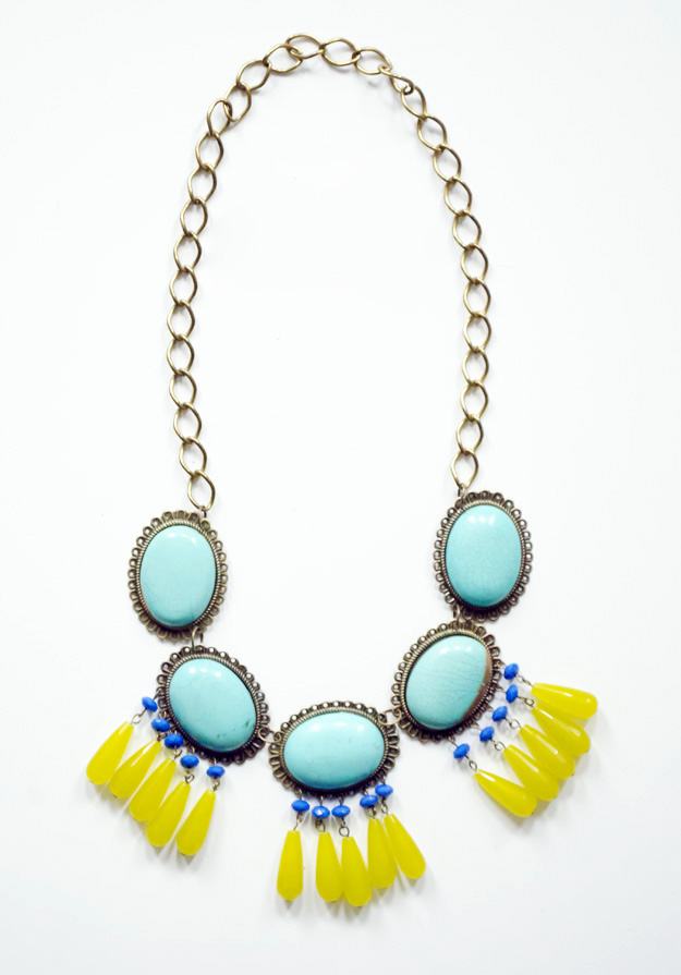 The Beadmixer - Created a statement necklace using different beads and findings from their website to provide inspiration for thier customers.