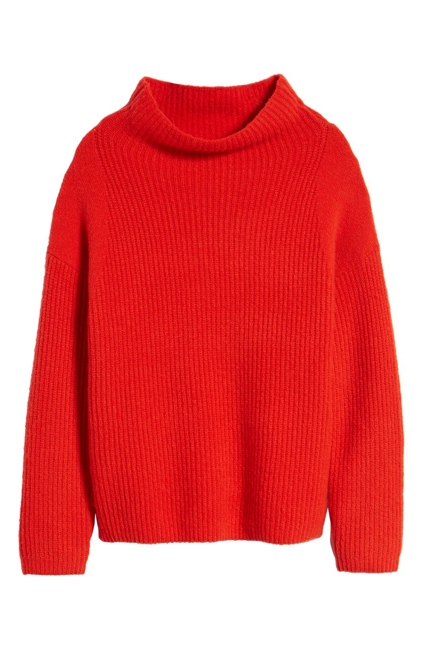 Trouve, Rib Turtleneck, $52.90 , After Sale $79
