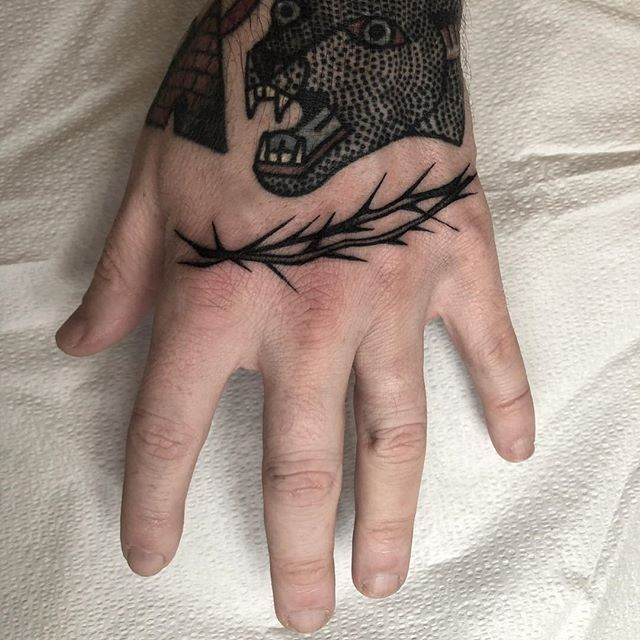 Thank you so much for trusting me to tattoo your hand @johnny_vampotna 👻🖤👻 @thunderbirdtattoola @blackoaktattoo #chicago #tattoos #blacktattooing #blacktattooart #222 #tattoodo #everythingwithlove #chicagotolosangeleswithlove