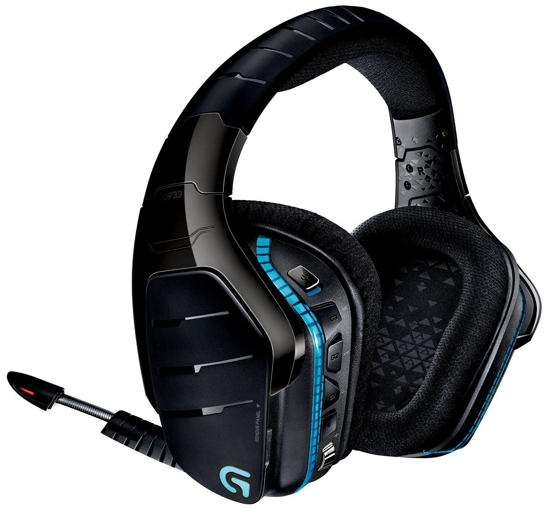 logitech g933 artemis spectrum wireless gaming headset. Black Bedroom Furniture Sets. Home Design Ideas