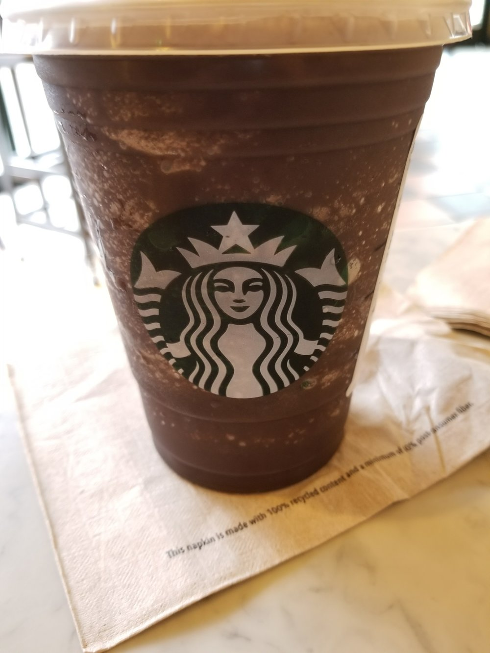 Starbucks Dark Mocha Frappuccino Review World Bolding