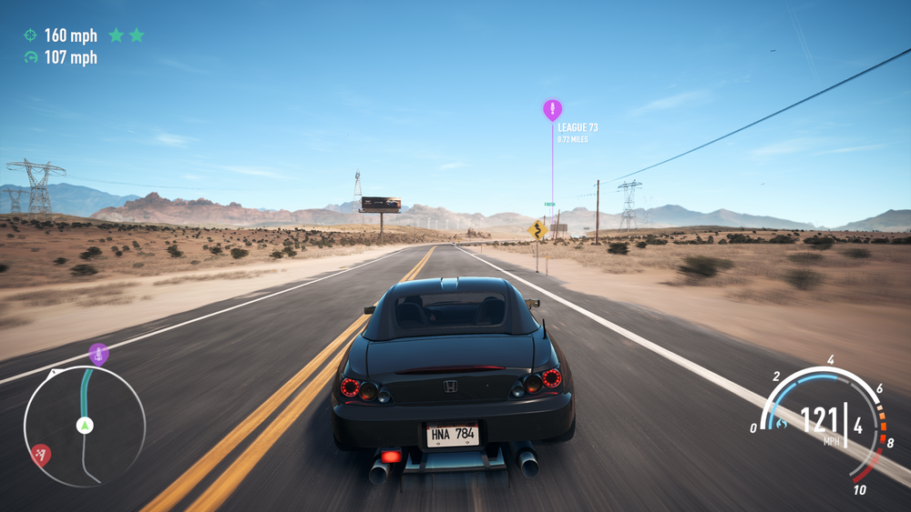 If you took away the interface, and the 2017-era blur effect...I'd probably believe this was an upscaled Forza Horizon screen at a glance.