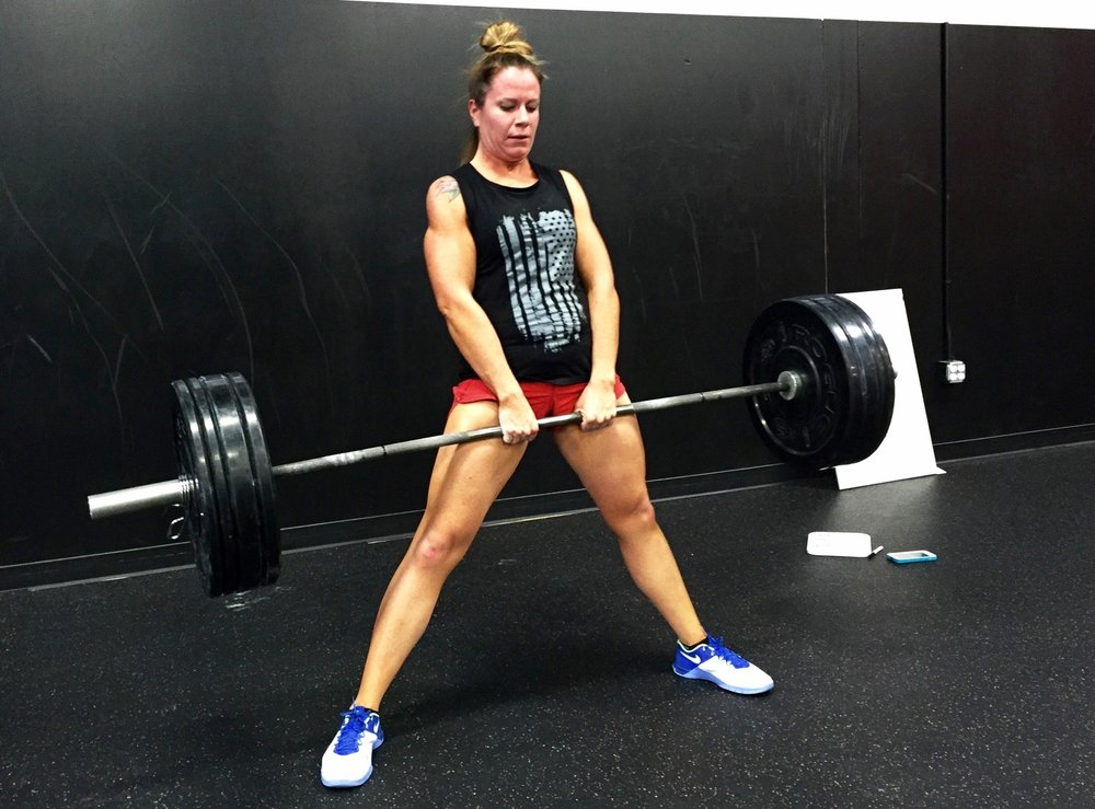 "Sarah Atondo - Crossfit changed my life! No, really! The first time I remember thinking I was fat, I was seven years old and I have thought that ever since. I have never been super obese, but always carried around extra weight. I dabbled around in sports a little in junior high but for the most part was a choir kid, so I have never been super athletic either. I would never in a million years consider myself CrossFit material.Fast forward: I find myself 29 years old, I'm done having children, super overweight and feeling more horrible than ever. My friends and neighbors, the Kretschmans, had discovered something and they couldn't stop talking about it! ""Come try CrossFit!"" they would tell me weekly. ""Yah right! I'm not crazy!"" was my consistent reply. That was for ex-military and cops and firefighters right? Not exactly my crowd for physical activity! Well, eventually by some act of God, they got me in there.I was so scared I thought I would puke and it was humiliating, but not because other people made me feel that way. Everyone was GREAT and completely supportive and by yet another act of God, I went back. I was feeling like if I could keep up with this, I could really lose some weight. I was feeling accomplished and starting to get a sense of this amazing community aspect that goes along with CrossFit. No matter how stupid I felt, everyone around me was cheering for me to finish. I got hooked pretty quickly after that.The results have been awesome! I am strong! I have completely changed my views on my body. I don't want to be thin anymore; I want to be strong! For the first time in my entire life, I don't feel so fat! For the first time, I don't WANT to be thin! This has been huge for me. My self-confidence has undergone some major improvement and so have my athletic abilities. I have something to look forward to every day that is positive and good for me! We all celebrate each other and our accomplishments and we are all in it together.I feel like Obsession is a very unique and special group of people. We have all come together to build the foundation for what will be an amazing community and we all are so vested into this group along with Dan and Danielle. We all truly care about each person and the future of this box. Each person brings something special and valuable, no matter how many people are in that workout. Dan stands out as an amazing coach that focuses on form and ability so that people don't get injuries and make improvements fast and correctly. This is a place that, like myself, will change many others' lives. How exciting to watch people better themselves and their health!"