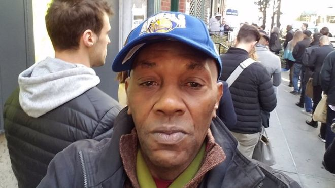 Timothy Caughman - A recycler, stabbed with a sword by a white supremacist in New York, March 2017.