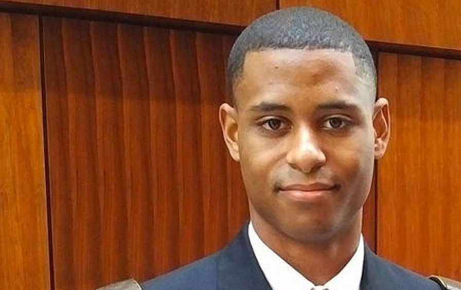 Richard Collins III - A veteran, stabbed by a white supremacist on the Bowie State, University of Maryland campus, May 20, 2017.