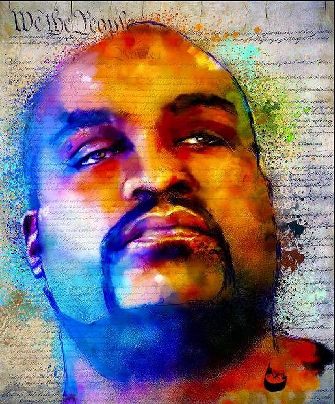 We The People: Terrence Crutcher © Howard Barry. Used with permission of the artist.