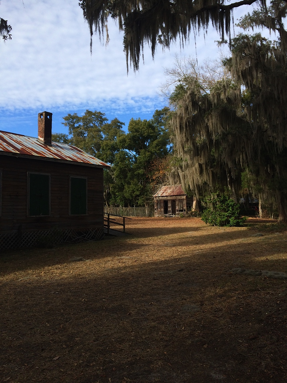 Ashantilly Hill Slave Dwelling © Melissa Pope Scott