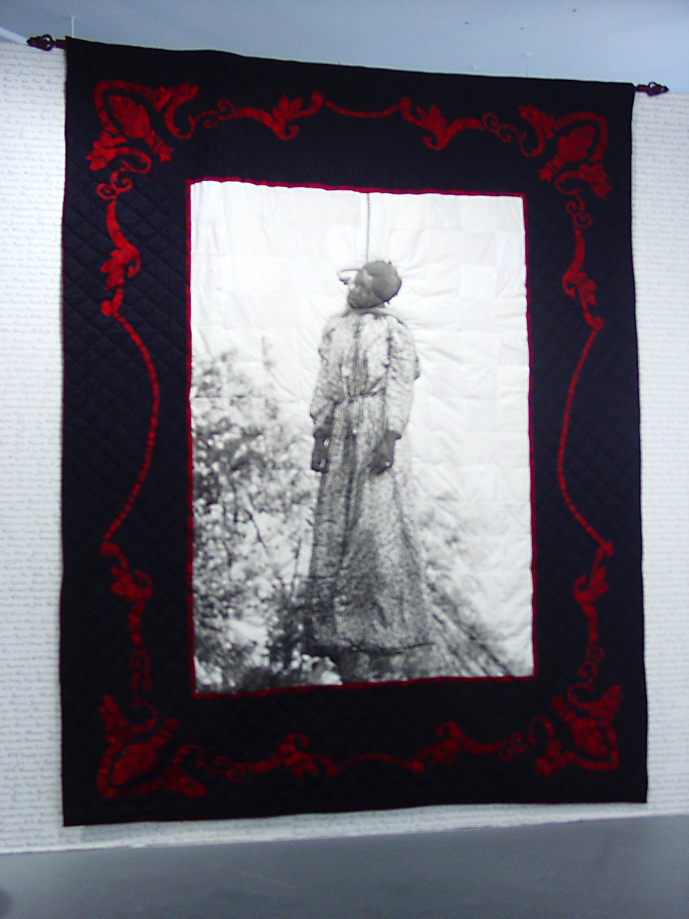 Her Name was Laura Nelson: Quilt I, 2004. © LaShawnda Crowe Storm, used with permission of the artist.