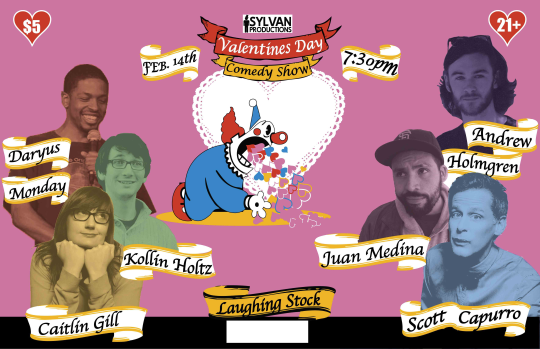 "This show was going to be great! With    Andrew Holmgren    (SF Weekly's Comedian to Watch),    Juan Medina   ,    Daryus Monday   , Caitlin Gill who you can hear on    NPR's ""Snap Judgment   ,"" and    Scott Capurro    from Comedy Central and Mrs. Doubtfire (among other things)."