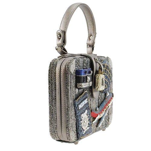 ab3dd5700ff7 Mile High Embellished Travel Theme Top-Handle Handbag — MADONNA INN ...