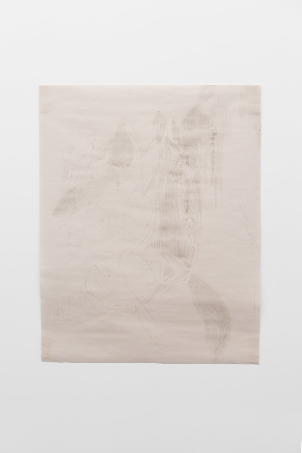 Tim Bucolic,  surrounding situation with dancers , 2018  Graphite on butcher's paper, 61 x 49cm  Image credit: Ruben Bull-milne