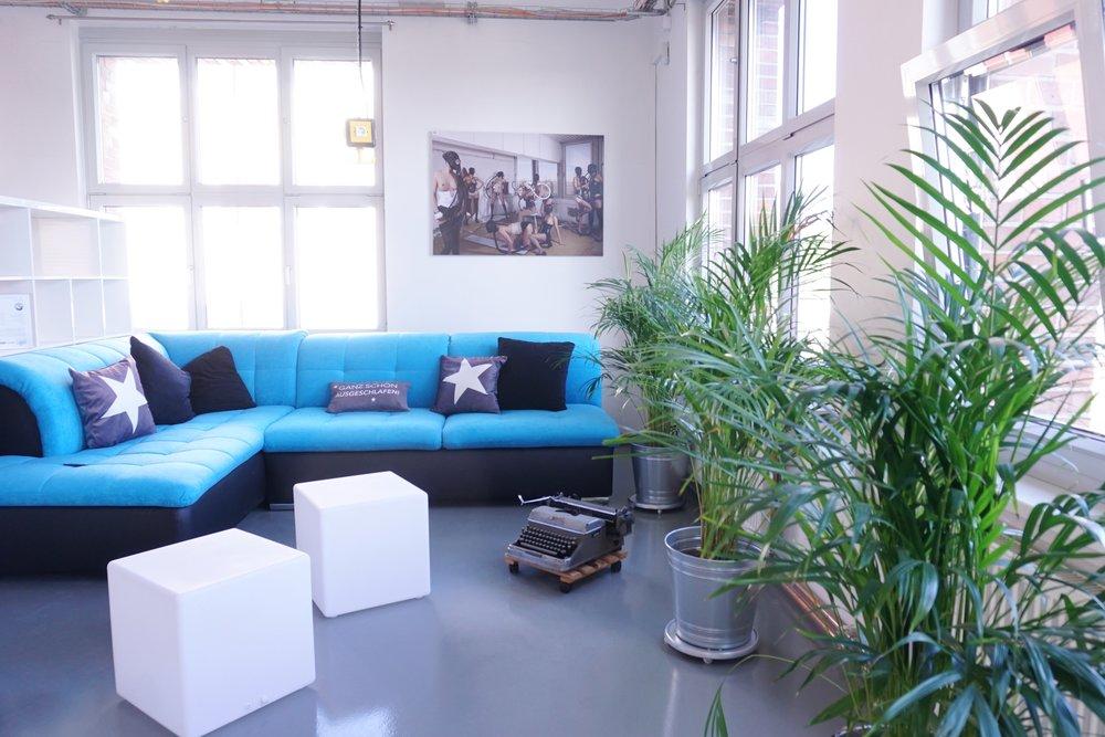 """""""Rüsseltierchen"""" fits to our cozy lounge"""