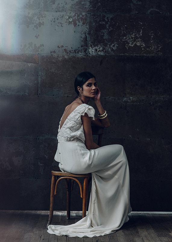 Laure De Sagazan Wedding Dress - Verlaine Dress