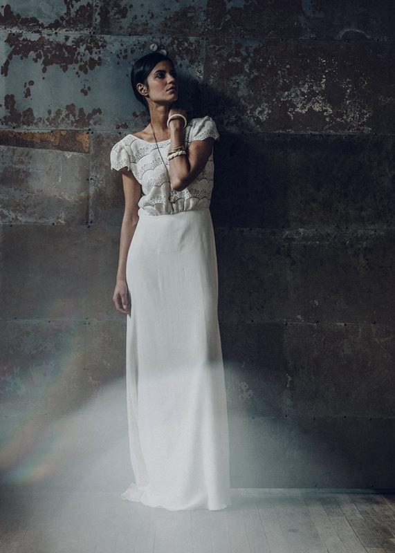 Laure de Sagazan Brautkleid - Verlaine Dress