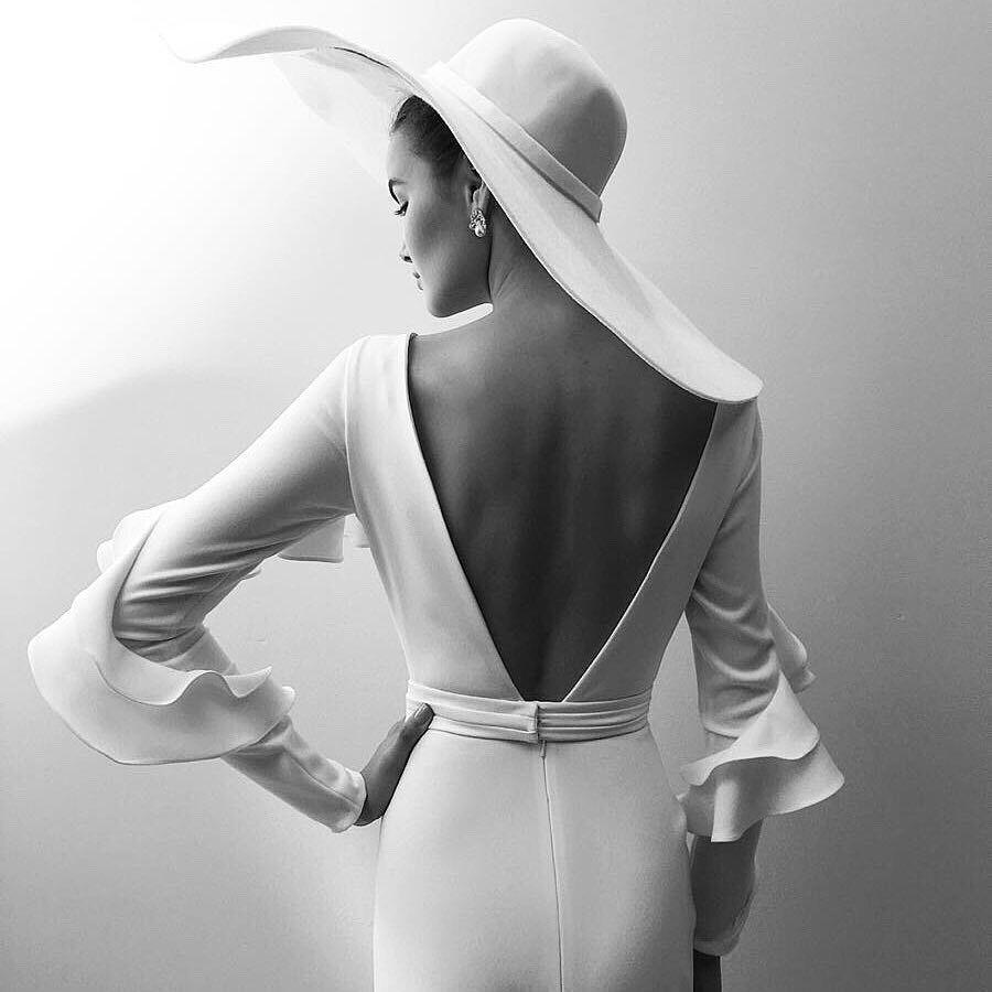 Alon Livne White Gabrielle Gown