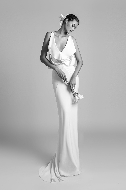 Orchid Dress by Alon Livné White