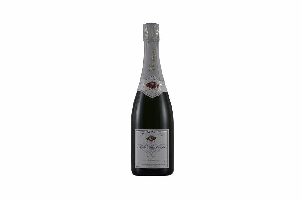 Photo bouteille de champagne Tristan Meunier