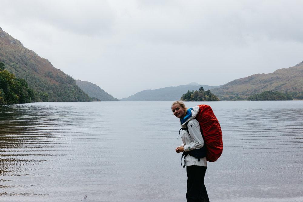 Loch Lomond, on the West Highland Way