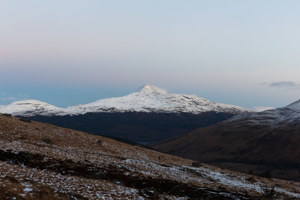 A view of Ben Lomond from The Cobbler