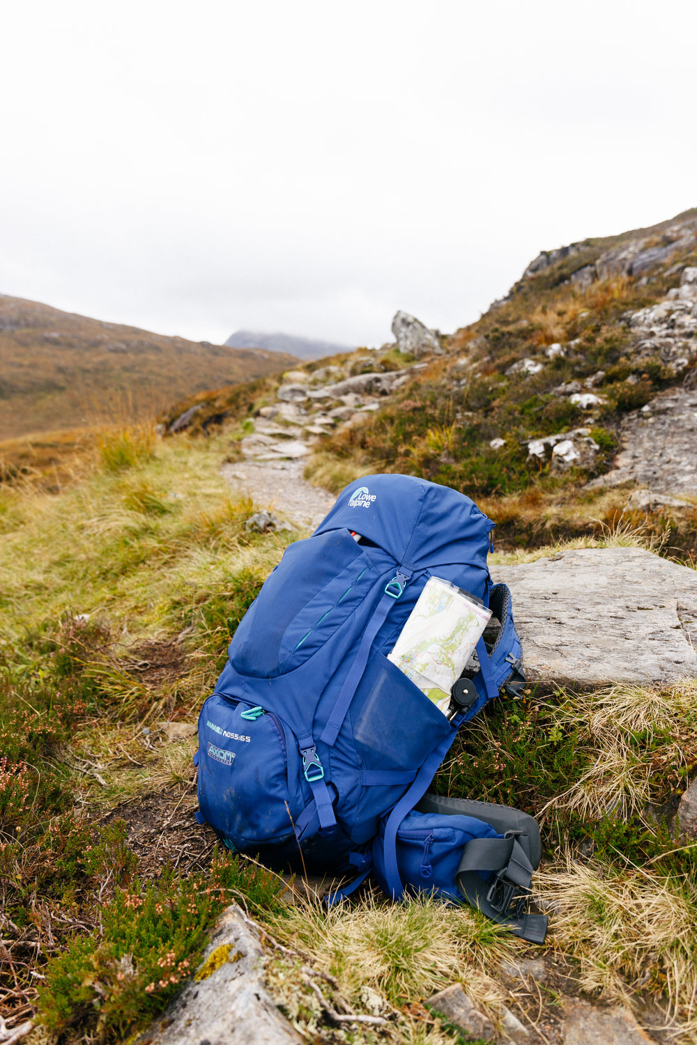 The Manaslu 55:65 on the West Highland Way