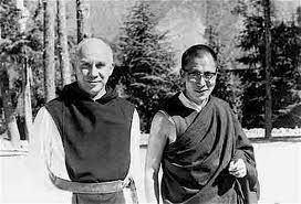 Thomas Merton and Dalai Lama meets