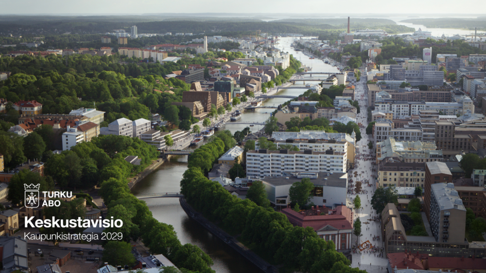 City of Turku as it might look like in 2050