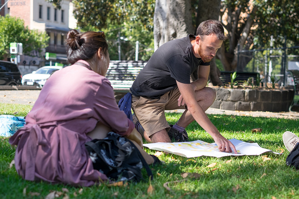 Tour Guide in the Park | Melbourne Walking Tour | Wayward Wanders.jpg