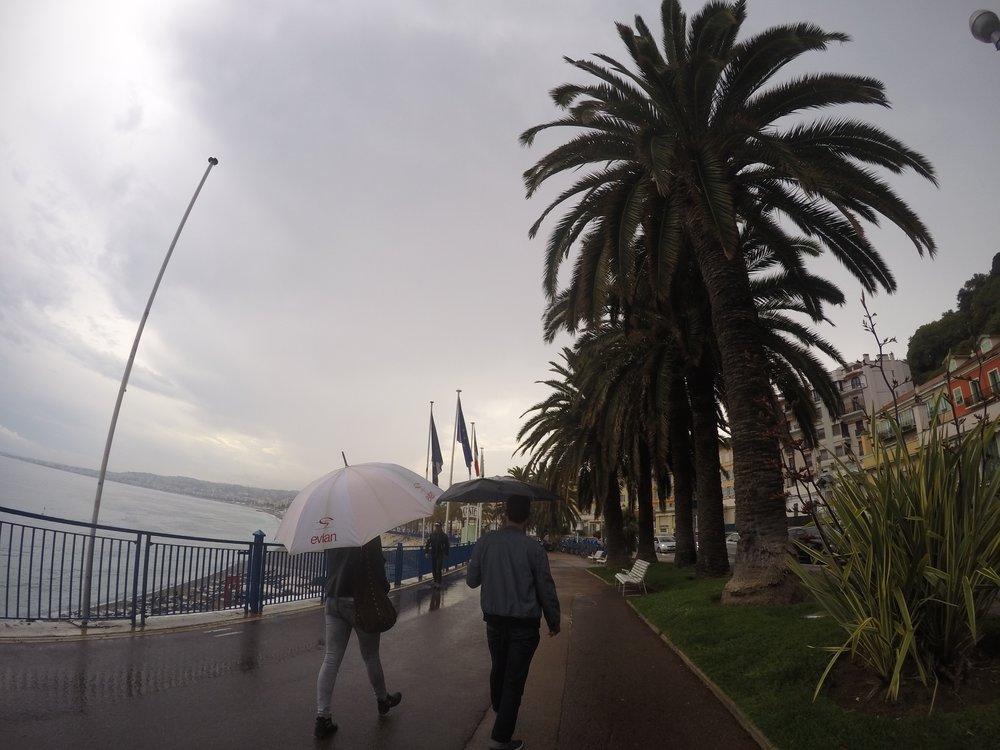 Promenade des Anglais- Nice, France